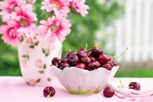 z-garten-fruehstueck-kirschen